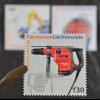 Liechtenstein 2007, Nr. 1454-56, Hiti Bohrhammer, Kaiser-Schreit-Mobil-Bagger S2