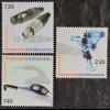 Liechtenstein 2008, Mi.Nr. 1498-00, 3 Werte, u.a. Neutrik-XLR-Kabelstecker NC3MX