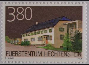 Liechtenstein 2008, Mi.Nr. 1501, Ortsbildschutz, Schädler Keramik AG, Nendeln