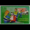 Liechtenstein 2009, Mi.Nr. 1513, Aktivitäten zum Bevölkerungsschutz: Samarieter