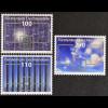Liechtenstein 2011, Michel Nr. 1585-87, Erneuerbare Energie: Photovoltaik, Solar