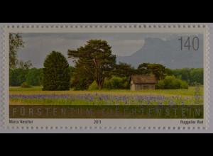 Liechtenstein 2011, Michel Nr. 1609, SEPAC, Landschaften III, Unterland