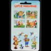 Estland EESTI 2015, Michel Nr. 825-28, Kinderbuch Lotte, 4 Werte aus MH skl.