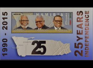 Namibia 2015, Block 88, 25 Jahre Unabhängigkeit, Hage Geingob, Präsident