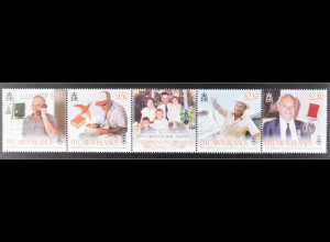 Pitcairn Pitcairn Islands 2015 Michel Nr. 936-39 Ben Christian, Fischfang