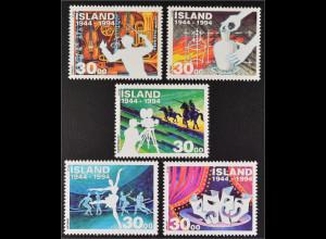 Kunst und Kultur seit der Gründung Islands Musik Kunsthandwerk Ballett Theater