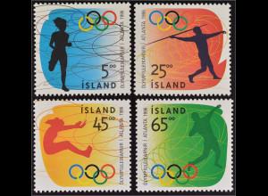 Laufen Speerwurf Weitsprung und Kugelstoßen Olympische Sommerspiele in Atlanta