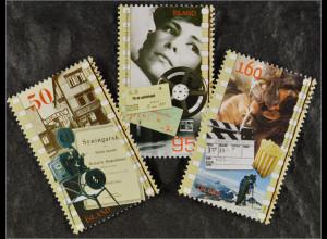 Island Iceland 2006 Michel Nr. 1120-22 100 Jahre Filmvorführungen in Island