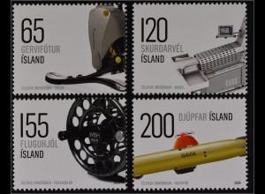 Island 2008 Nr. 1199-02 Isländisches zeitgenössisches Design Industriedesign