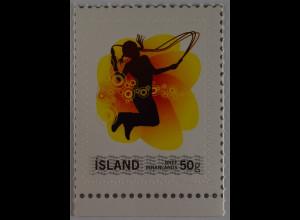 Island Iceland 2008 Michel Nr. 1209 Meine Marke Mädchen mit Springseil