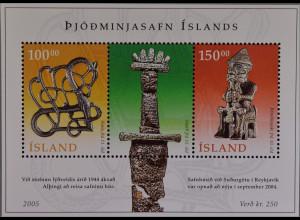 Island 2005, Block 37, Isländisches Nationalmuseum, Reykjavík, Thor-Statue