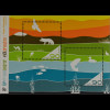 Island 2010 Block 51 Tag der Briefmarke Internationales Jahr d. Biodiversität