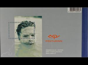 Island Iceland 2004, Michel MH Nr. 16, booklet, Erdwärmenutzung in Island