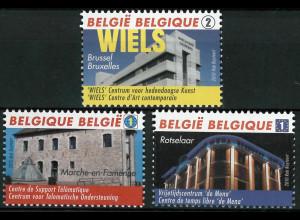 Belgien 2010 Michel Nr. 4107-09 Umwandlung ehemaliger Brauereien Wiels