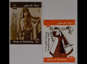 Palästina State of Palestine 2015 Michel Nr. 328-30 Frauentag