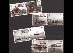 Britische Antarktis BAT, 2012, Michel Nr. 595-02, 75. Jahrestag der Expedition