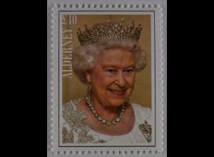 Alderney 2015 Michel Nr. 538 Queen Elizabeth II. Längste Regierungszeit 1952
